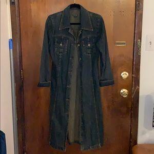 ❤️🌘⭐️ Denim Trench Coat. Size M